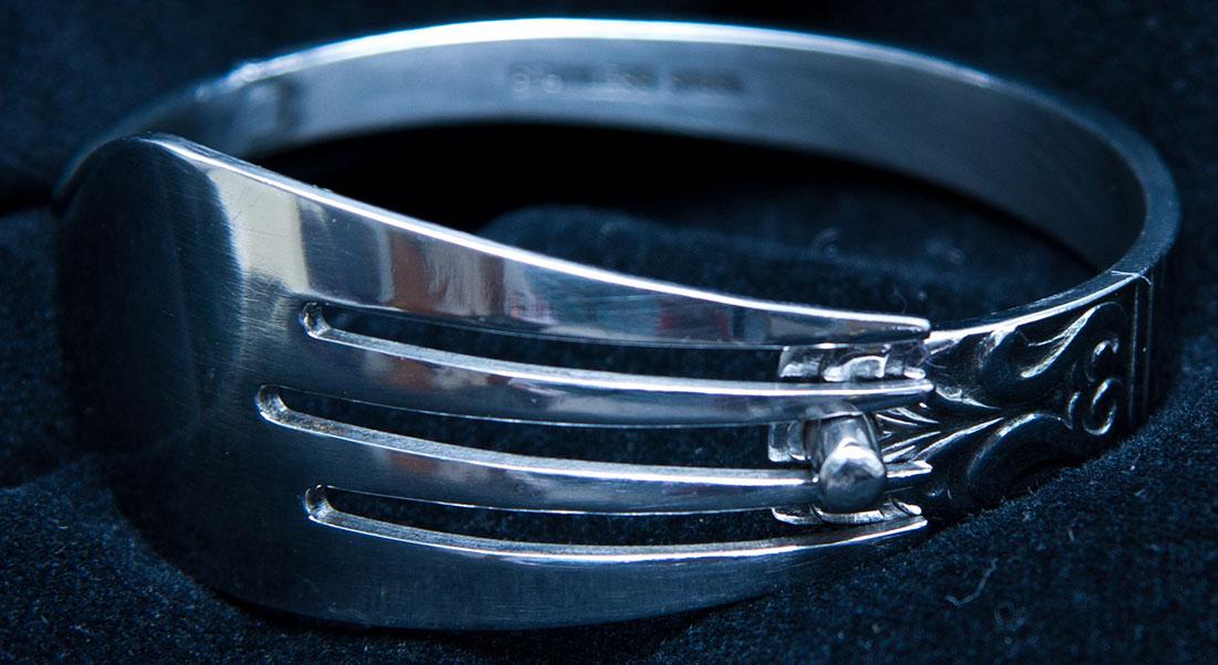 Heritage Twist Fork Bracelet